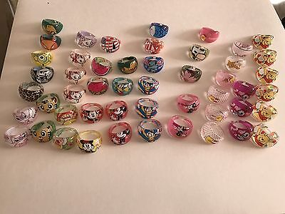 US Seller Lot of 50 Rings for Kids Wholesale Lot ~ NEW
