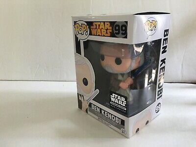 Funko POP Star Wars Ben Kenobi #99 Smuggler's Bounty With Box