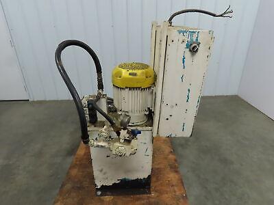 7.5 Hp 15 Gallon Hydraulic Power Unit Wvickers V10 1p5p 1c 20 230460v 3ph