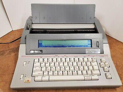 Smith Corona Pwp125 Pwp 125 Word Processor Electric Typewriter - Tested Working