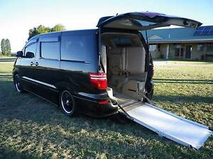 2007 Toyota Alphard wheelchair /motorcycle Van/Minivan Coonabarabran Warrumbungle Area Preview