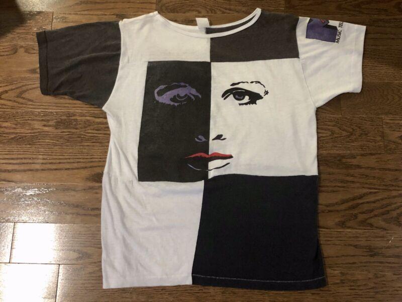 Vtg 1984 Prince And The Revolution Rare Mtv Concert Tour Shirt,madonna,wham,