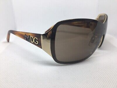 Dolce Gabbana Madonna Sunglasses DG 2089 Italy Brown (Madonna Dolce And Gabbana Sunglasses)