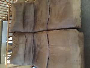 Two single recliner couch seata