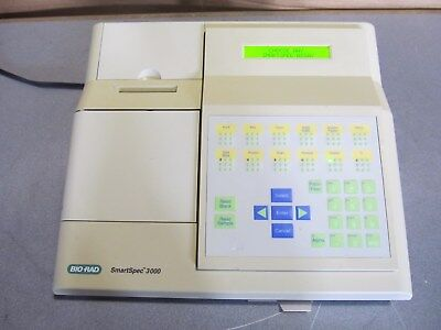 Oem Bio Rad Laboratories Smartspec 3000 Spectrophotometer