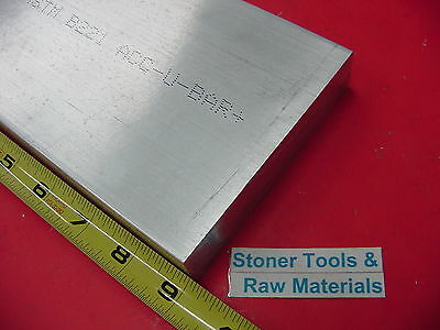 1 X 6 Aluminum 6061 T6511 Solid Flat Bar 9 Long 1.00 Plate New Mill Stock