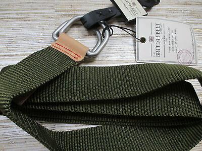 U-18 The British Belt Company strap belt GREEN size L/XL new ()