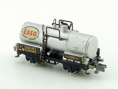 Rokal TT G 215 Kesselwagen Esso Metall Guß Speichenräder Spur TT 1412-26-50