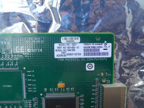 National Instruments NI PXI-8231 PXI Gigabit Ethernet Module