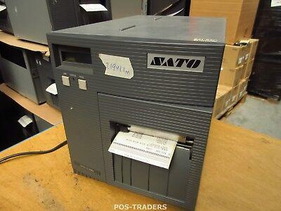 """SATO CL408E Parallel Thermo Label Drucker REWINDER 203dpi 4.1"""" 104mm - 21991.1 M"""