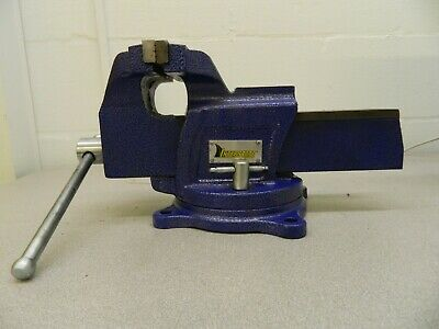 Interstate Cast Iron Swivel Bench Vise 6jaw Width 4-1516 Opening Cap 09207861
