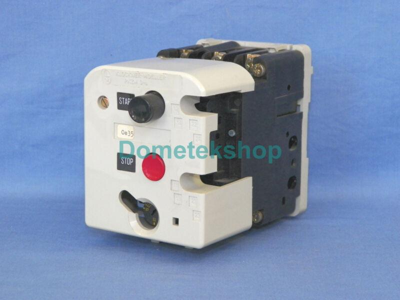 Klockner Moeller PKZM3-16-U-NA Motor Starter, adjustable 8.8 to 15 Amps