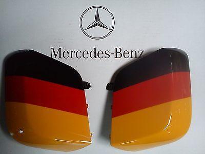 Spiegelblende in Landesflagge, Actros neu und Antos, Original Mercedes-Benz