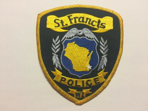 St Francis WISCONSIN Police Patch