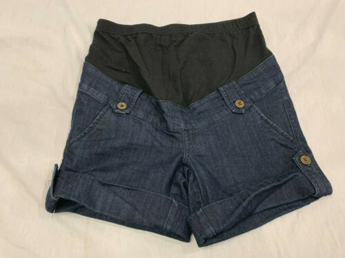 first kick womens maternity jeans shorts size s