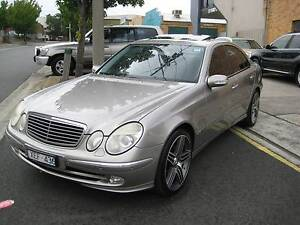 "2003 Mercedes-Benz E500 AVANTGARDE ""ONLY 99,890 KLMS A1 Heidelberg Heights Banyule Area Preview"