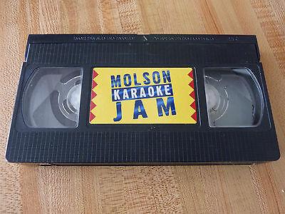 Видео-кассеты Rare VHS Movie Molson Karaoke Jam ! Original Version /bob pine /provocante ++
