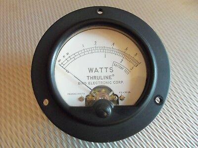 Bird 4410A Thruline 30Ua Replacement Wattmeter Element Slug Reading Meter Face