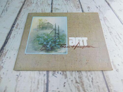 Art by Ben Hampton Works Catalog Booklet Hampton House Studios