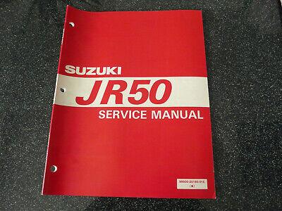 Suzuki JR 50    Service Manual Handbuch Werkstatthandbuch Shop Manual