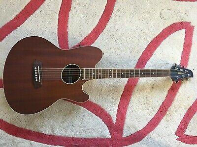 Ibanez TCY12E-OPN Electro Acoustic Guitar Open Pore Natural