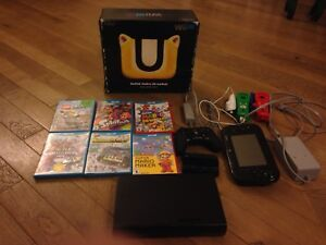 Selling Wii U with 6 games + 3 controllers, EUC
