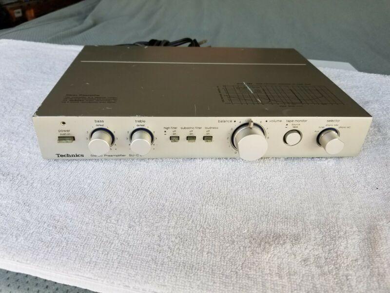 Technics SU-C01 Stereo Preamplifier