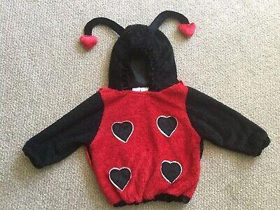Lady Bug Animal Costume Pullover Hood Warm Halloween 2T 3T 4T Hoodie Dress Up](3t Animal Halloween Costumes)