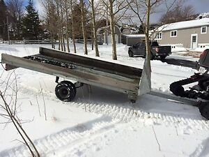 10x6 Snowmobile Travel Trailer