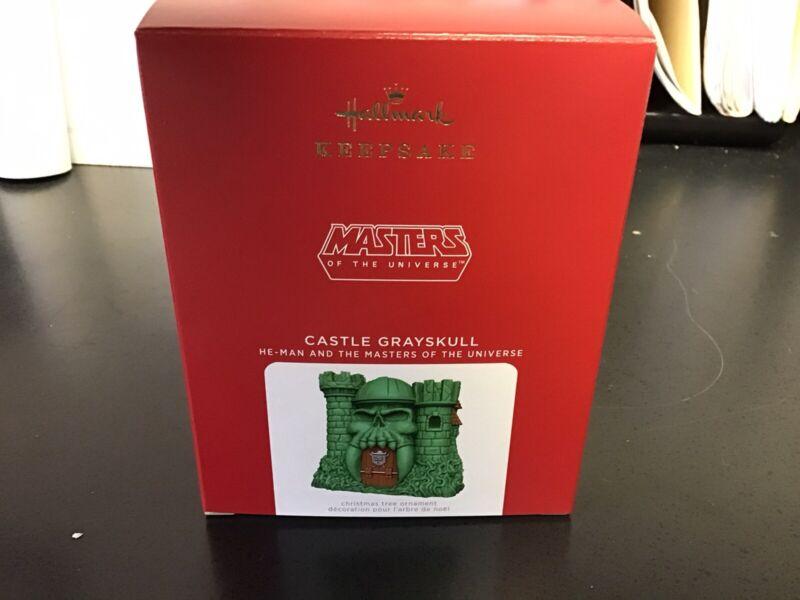 2021 Castle Grayskull He-Man Masters of the Universe CHRISTMAS KEEPSAKE ORNAMENT