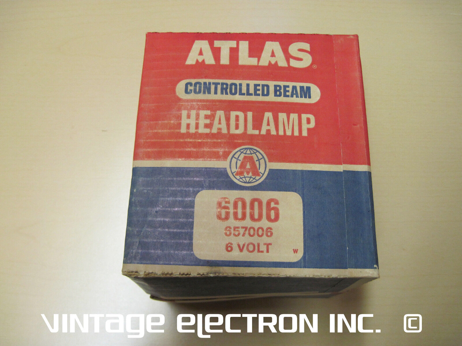 ATLAS 6006 Headlamp - 6 Volt (6V) - $29.95/ea, FREE SHIPPING, MADE IN USA