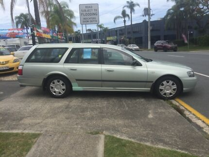 2003 FORD FALCON BA WAGON,rego, Rwc,automatic,clean car!! Nerang Gold Coast West Preview