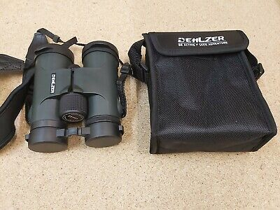 Dehlzer Binoculars 10x42 with Carry case and strap ref10
