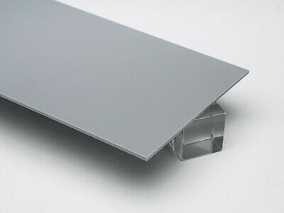 18 3mm Solid Light Grey 12x12 Opaque Acrylic Plexiglass Sheet Azm