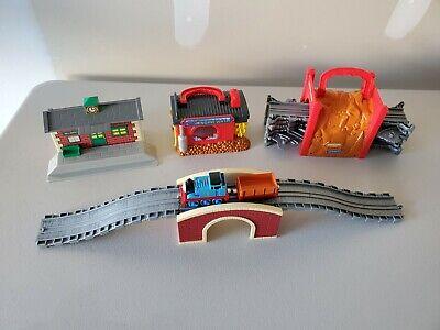 Thomas the Train Take N Play Along Play Set Wellsworth Sodor Lot of 4