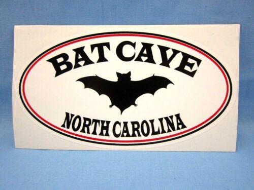 ** BAT CAVE NORTH CAROLINA NC ** - SOUVENIR TRAVEL STICKER / DECAL ~L@@K~