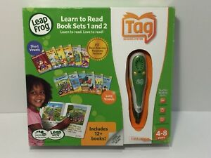 Leapfrog Tag Reading System Pen w/12 Books