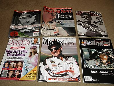 6 Magazines With Tributes To Dale Earnhardt S I  Nascar Illus  Sport News People