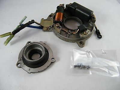 YAMAHA MID 1980'S 8 HP OUTBOARD MOTOR ENGINE CDI ROTOR STATOR ASSEMBLY # F280-68