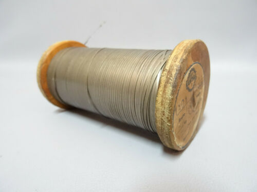 Kanthal D Tape Wire 1 x 0.1 14.5 Ohm per meter 1150 °C  10 m per lot