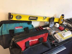 Assorted electical trade tools read description BARGAIN MUST GO