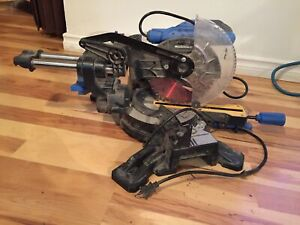 Mastercraft Sliding Compound Mitre Saw, 7-1/4-in