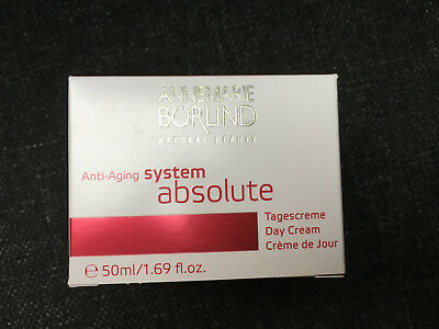 System Absolute Tagescreme (ANNEMARIE BÖRLIND Natural Beauty ABSOLUTE System Anti-Aging Tagescreme 50 ml)