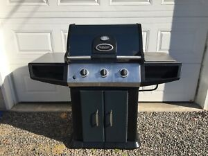 Vermont Castings natural gas BBQ.