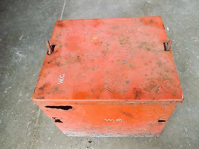 Allis Chalmers Styled Wc Tractor Ac 2 Piece Battery Box Holder Tray Bracket