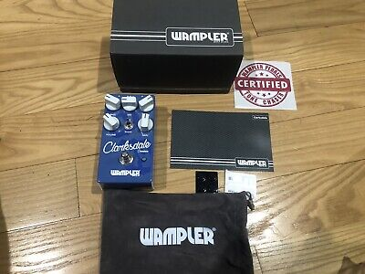Wampler Clarksdale Overdrive  Effects Pedal - Mint In Box