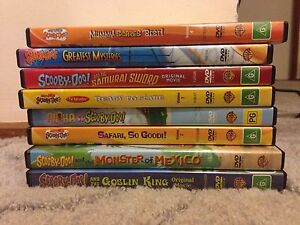 Scooby Doo - movies/tv episodes Sunbury Hume Area Preview