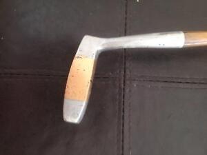 left handed hickery shaft putter