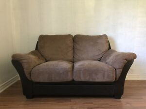 Comfortable love seat sofa / couch