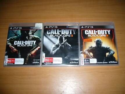 PS3 Call of Duty Black Ops Games Bundle Black Ops 1 2 & 3 I, II, Coolaroo Hume Area Preview